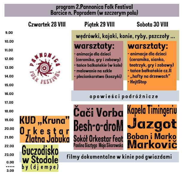 program Pannonica 2014 2.5